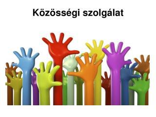 Közösségi szolgálat