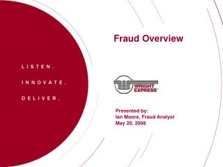 Fraud Overview