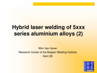 Hybrid laser welding of 5xxx series aluminium alloys (2)