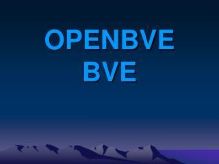 OPENBVE BVE