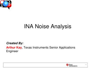 INA Noise Analysis