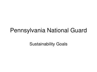 Pennsylvania National Guard