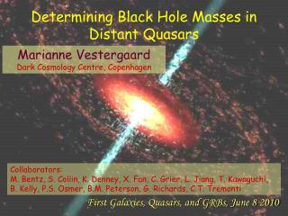 Determining Black Hole Masses in Distant Quasars