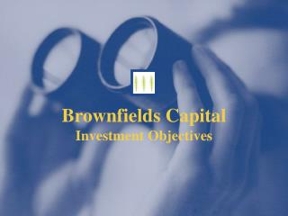 Brownfields Capital Investment Objectives
