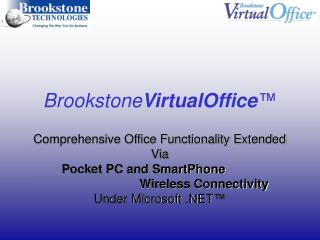 Brookstone VirtualOffice ™