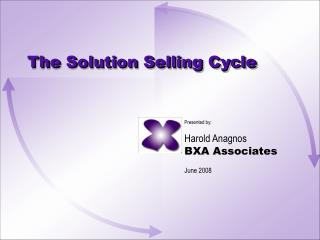The Solution Selling Cycle