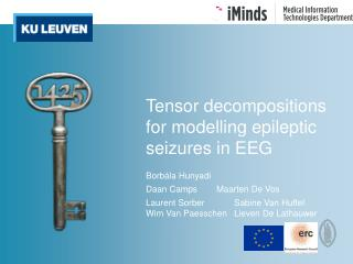 Tensor decompositions for modelling epileptic seizures in EEG
