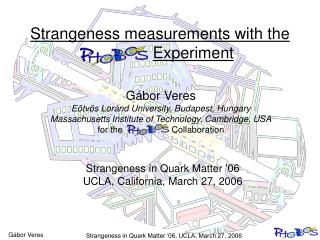 Strangeness measurements with the  Experiment