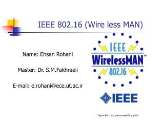 IEEE 802.16 (Wire less MAN)