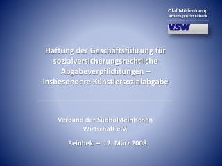 Verband der Südholsteinischen Wirtschaft e.V.