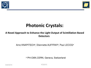 Photonic Crystals: