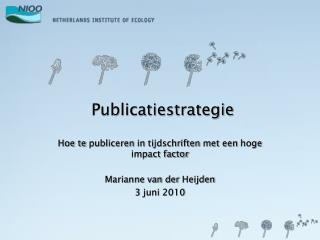 Publicatiestrategie