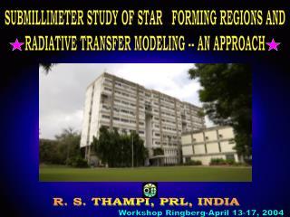 Workshop Ringberg-April 13-17, 2004