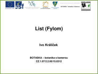 List (Fylom)
