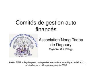Comités de gestion auto financés