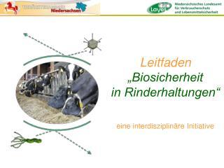 """Leitfaden """"Biosicherheit in Rinderhaltungen"""""""