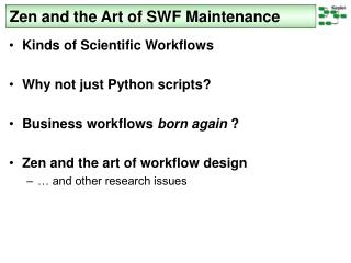 Zen and the Art of SWF Maintenance