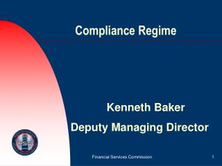 Compliance Regime