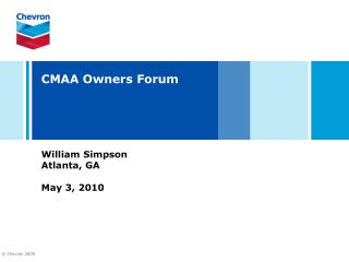 CMAA Owners Forum