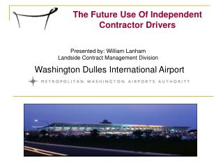 The Future Use Of Independent Contractor Drivers