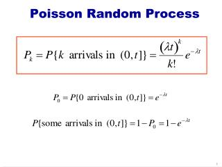 Poisson Random Process