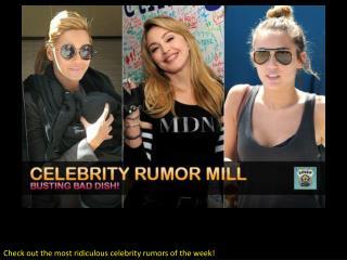 Celebrity Rumor Mill