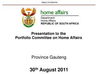 Province Gauteng
