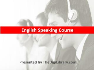 English Speaking Course, Tips, Learn, PDF, How to Improve En