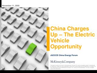 China Charges Up – The Electric Vehicle Opportunity