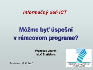 Informačný deň ICT