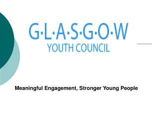 Meaningful Engagement, Stronger Young People