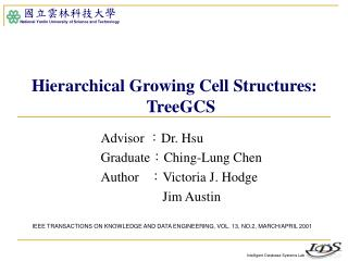 Advisor  : Dr. Hsu Graduate : Ching-Lung Chen Author    : Victoria J. Hodge 		        Jim Austin