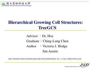 Advisor  : Dr. Hsu Graduate : Ching-Lung Chen Author    : Victoria J. Hodge         Jim Austin