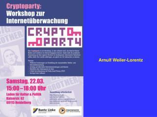 Arnulf Weiler-Lorentz