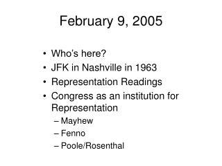 February 9, 2005