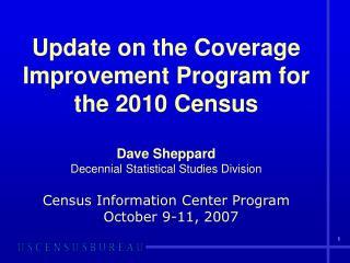 Coverage improvement