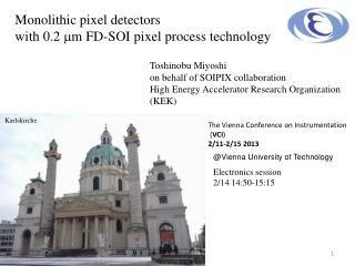 Monolithic pixel detectors  with 0.2  m m FD-SOI pixel process technology