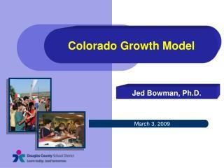 Colorado Growth Model