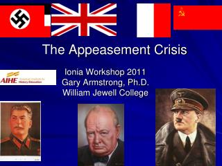 The Appeasement Crisis