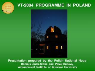 VT-2004  PROGRAMME  IN  POLAND
