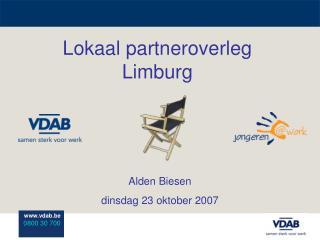Lokaal partneroverleg Limburg
