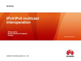 IPv4/IPv6 multicast interoperation