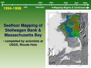 Seafloor Mapping of Stellwagen Bank & Massachusetts Bay