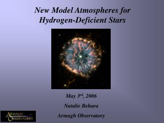 New Model Atmospheres for Hydrogen-Deficient Stars