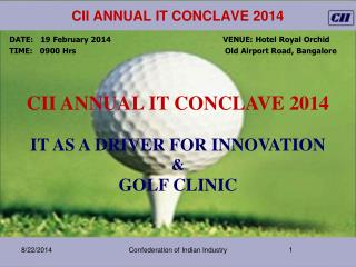 CII annual IT Conclave 2014