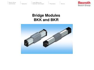 Bridge Modules BKK and BKR