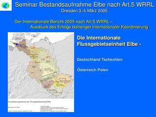 Die bisherigen Arbeiten der IKSE     Der Weg zum Bericht 2005    Der  Berichtsaufbau