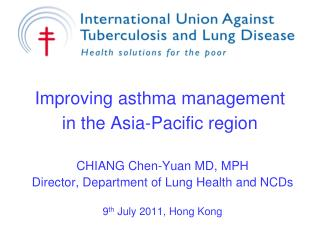 Improving asthma management in the Asia-Pacific region