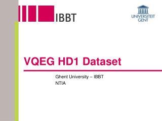 VQEG HD1 Dataset