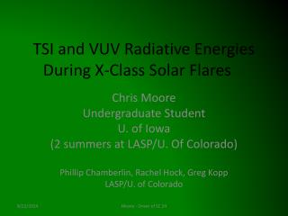 TSI and VUV Radiative Energies During X-Class Solar Flares